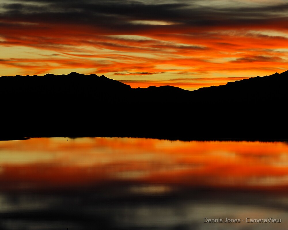 A Rapter Lake Sunset by Dennis Jones - CameraView