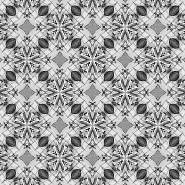 Black and White frost and tile by Hgomez84
