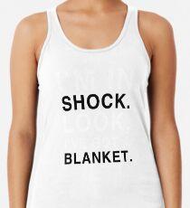 Camiseta con espalda nadadora Manta de choque