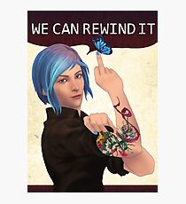 WE CAN REWIND IT Photographic Print