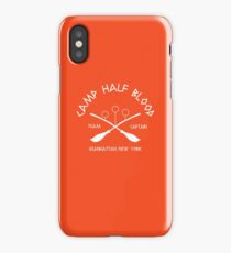 Camp Half Blood Team Captain iPhone Case/Skin