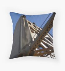 Golden Bridge Throw Pillow