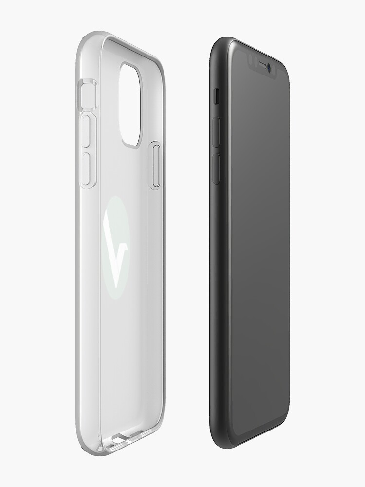 étui iphone 8 laurent - Coque iPhone « Logo Vertcoin », par hypeking
