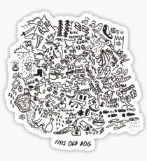 Mac Demarco This Old Dog Shirt Sticker