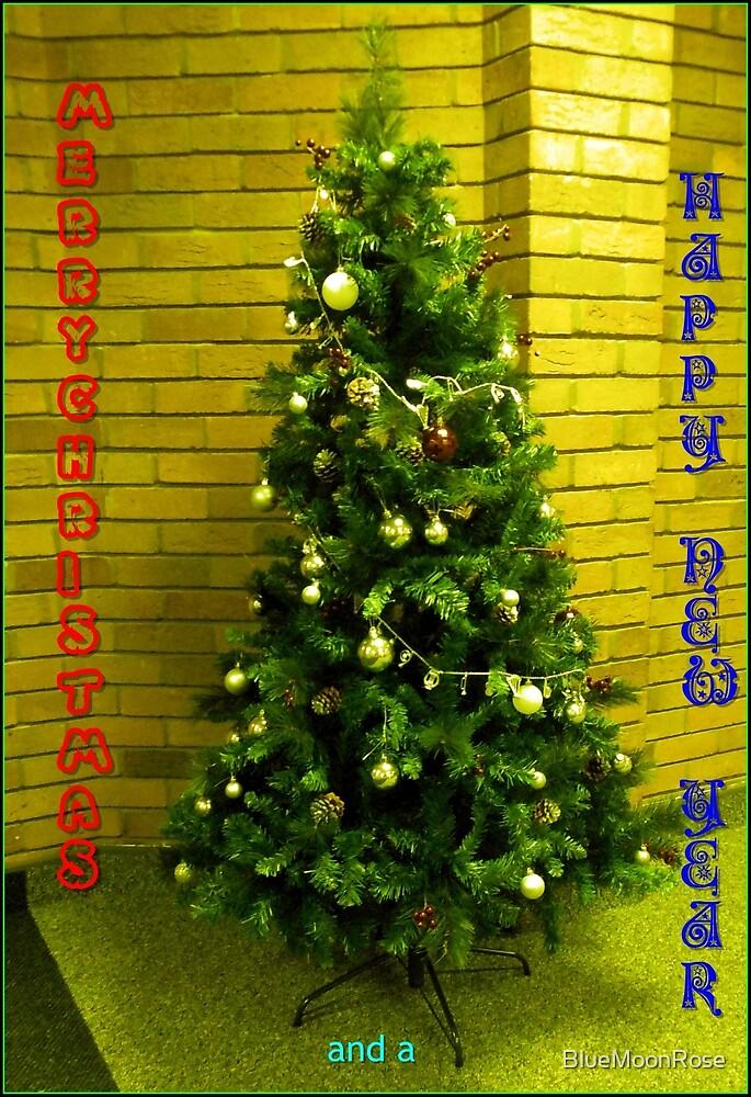 Ein frohes Weihnachtsfest an alle meine RedBubble-Freunde! von BlueMoonRose