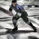 Ready For The Puck- Ice Hockey Player by NaturePrints