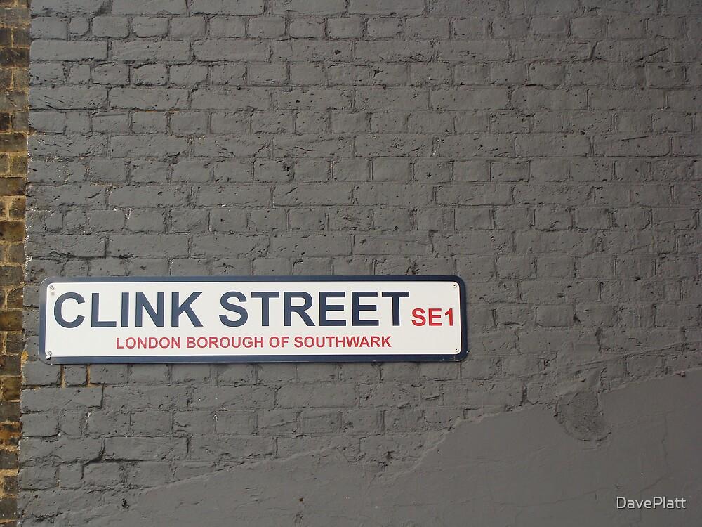 London Street Sign by DavePlatt