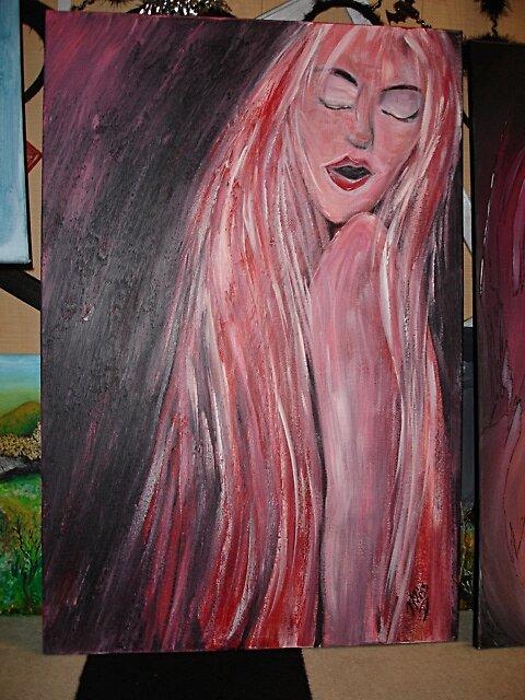 The pink lady by missdebbie1964