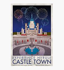 Experience Hyrule Castle Town Photographic Print