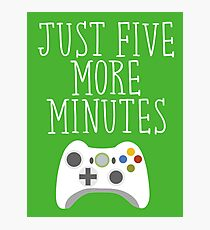 Just Five More Minutes - XB Photographic Print