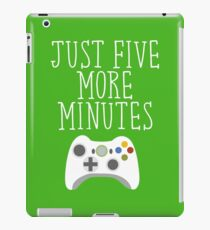 Just Five More Minutes - XB iPad Case/Skin