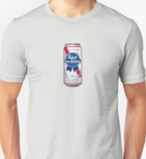 Pabst Blue Ribbon Can Unisex T-Shirt