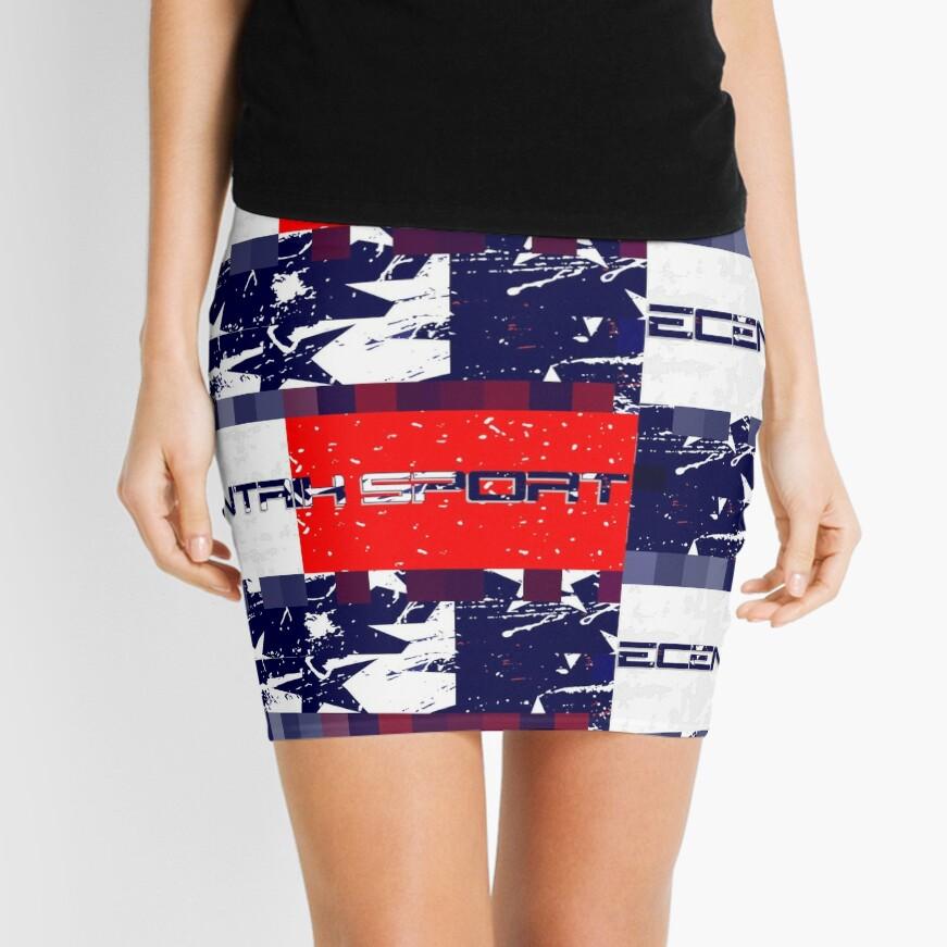Ecentrik Sport Mini Skirt
