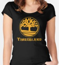 ALL TIME POPULAR AY741 Timberland Classic Tree Logo T Shirt New Product Women's Fitted Scoop T-Shirt