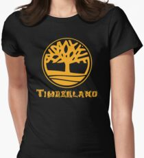 ALL TIME POPULAR AY741 Timberland Classic Tree Logo T Shirt New Product Women's Fitted T-Shirt