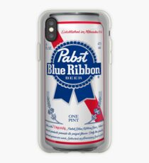 Pabst Blue Ribbon Can iPhone Case