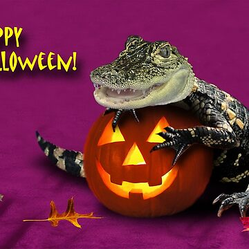 Halloween Alligator by jkartlife