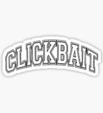 clickbait merch Sticker