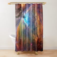 Orion Nebula Space Galaxy, RBSSG Shower Curtain