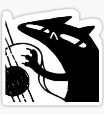 denae*sketch - R O C A G U I T A R Sticker
