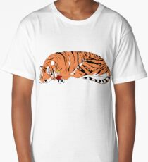 Hobbes and Calvin Long T-Shirt