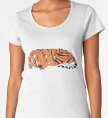 Hobbes and Calvin Women's Premium T-Shirt