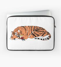 Hobbes and Calvin Laptop Sleeve