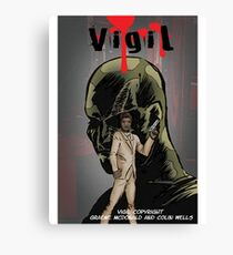 Vigil #1 Cover Canvas Print