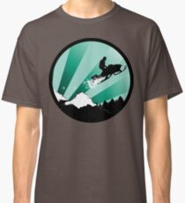 snowmobile : powder trail Classic T-Shirt