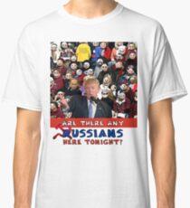 Any Russian, Trump Rally, Trump, Russia, Emoji, Trump Question Classic T-Shirt
