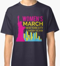 Women's March NYC January 20 2018 Classic T-Shirt