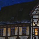 Germany Ulm Fishermen's Quarter Moon Roofs by Yuriy Shevchuk