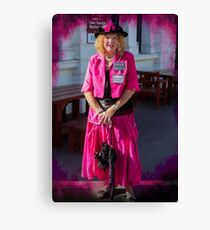 Madame Cerise Canvas Print