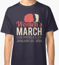 Women's March Los Angeles January 20 2018 Classic T-Shirt