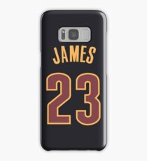 LeBron James Jersey Samsung Galaxy Case/Skin