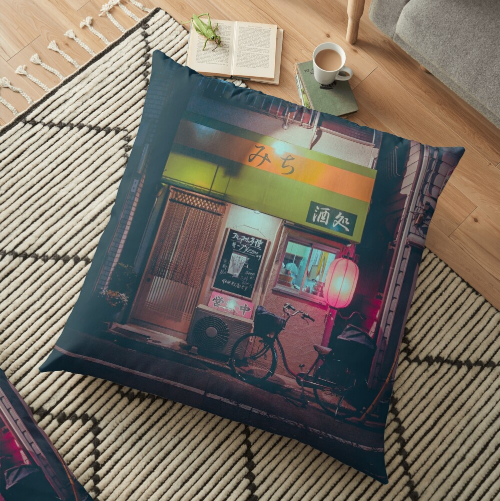 Tokyo's Ramen Floor Pillow