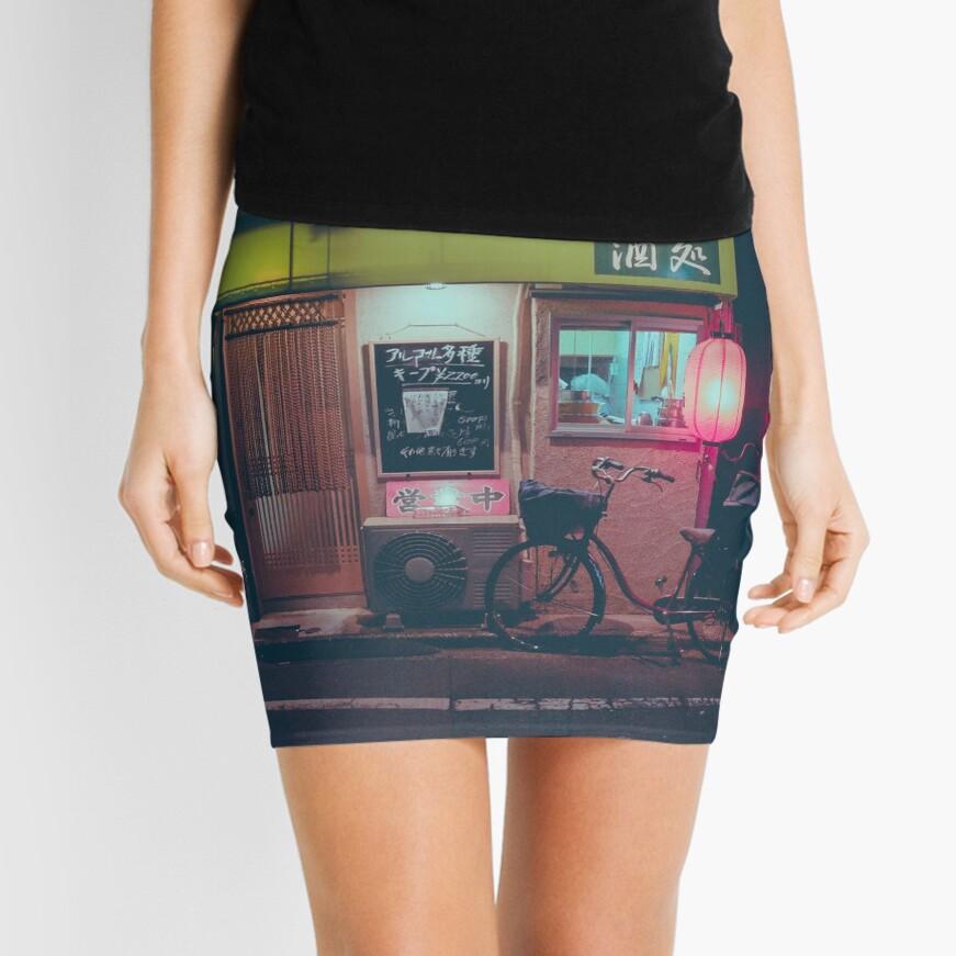 Tokyo's Ramen Mini Skirt