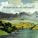 Beside Still Waters by Patricia Howitt