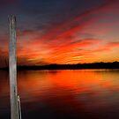 Louisiana Coastal Sunset III by KSkinner