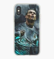 cristiano ronaldo canvas iPhone Case
