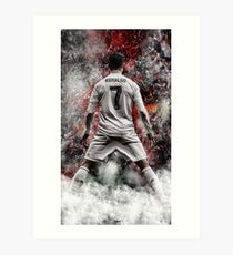 cristiano ronaldo best wallpaper Art Print