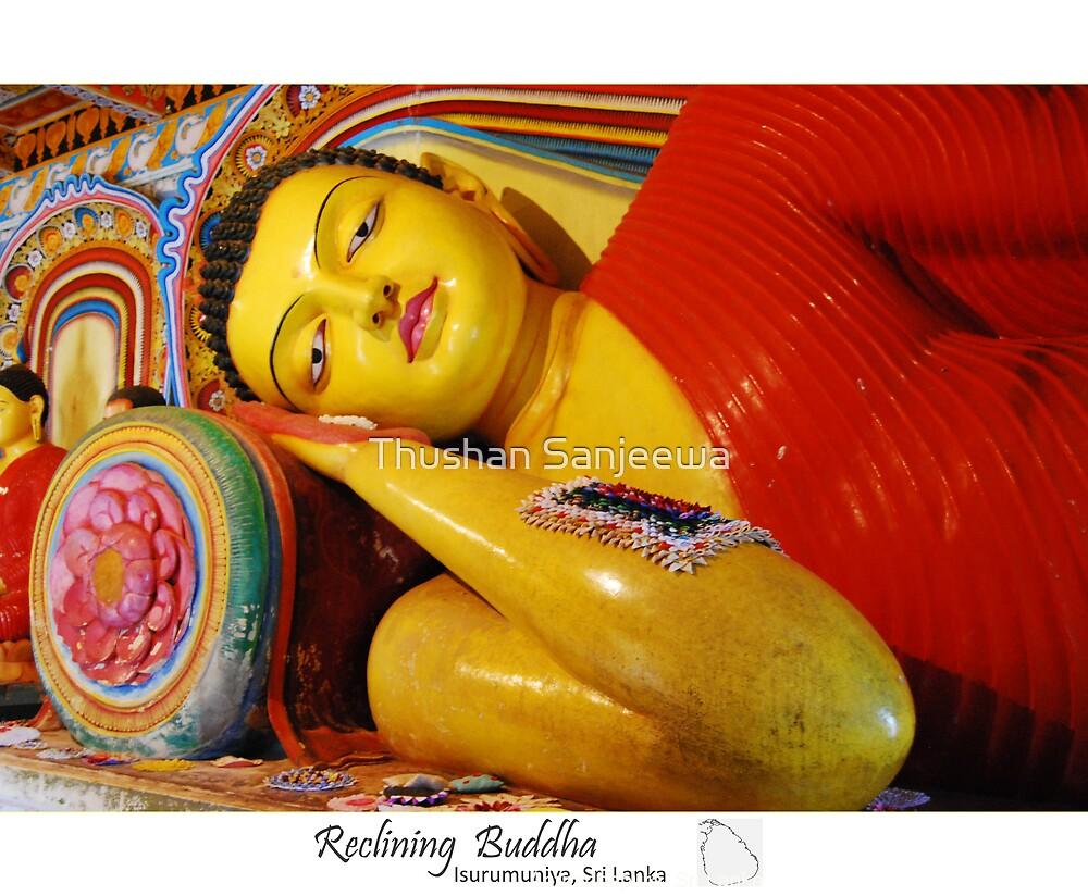 Reclining Buddha by Thushan Sanjeewa