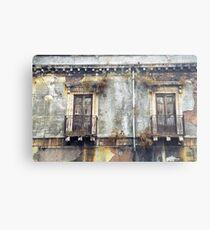 Sicilian Facade Metal Print