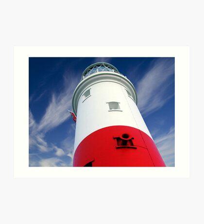 Portland Bill Lighthouse Art Print