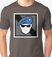 Blue Recruit Operator Icon Unisex T-Shirt