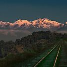 tracks to the Himalayas by Istvan Hernadi