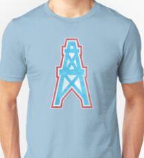 Houston Oilers Faded Unisex T-Shirt