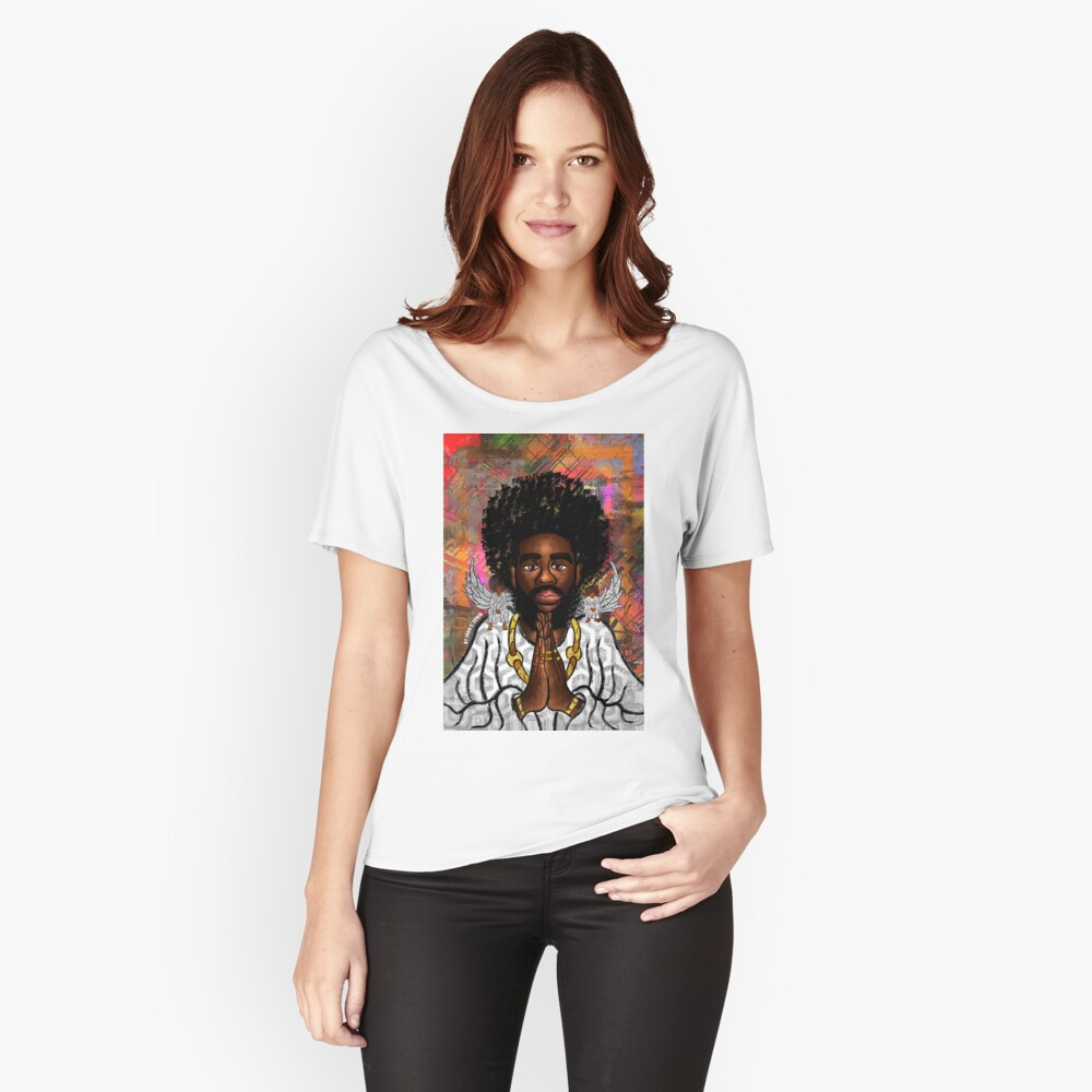 Black Jesus Relaxed Fit T-Shirt