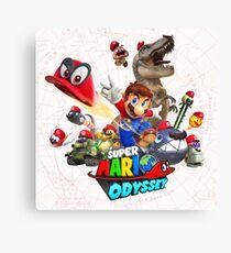 Super Mario Odyssey Canvas Print
