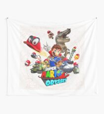 Super Mario Odyssey Wall Tapestry